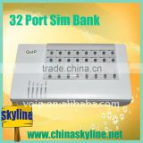 32 port gsm channel bank for goip,gsm Remote SIM Card Emulator and automatic IMEI Change