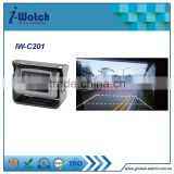 IW-C201 1/4 sony digital panel meter backup reverse camera 12v vehicle rear view camera 2015 new model cctv camera