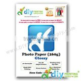 Photo Paper 260g (Glossy) (20 sheets/pkt)