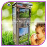150L and 200L Best quality commercial automatic fresh milk vending machine milk dispenser