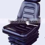 delux fold-down back seat with suspension,agriculture tractor seat,used farm tractor seat,forklift seat