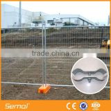 hot sale! plastic feet portable temporary construction fence