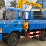 Dongfeng EQ5150JSQ 2T - 5T straight arm lorry crane, truck mounted crane