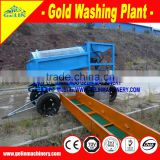 Gold Processing washing Plant/Rotary Trommel Screen/mobile drum scrubber/sand,rock gold separator wash machine for diesel motor