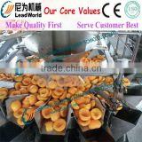 high speed yellow peach canned packing machinery