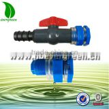 Agricultural farm land irrigation system water tank fittings plastic bulkhead tank fitting connector