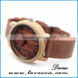Smart wood watch automatic wooden watch with logo