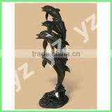 Antique Garden cast iron fountains dolphine fountain