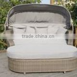new design outdoor rattan sunbed