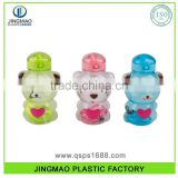 Animal Shape Cute Colorful Plastic Water Bottle