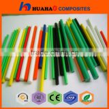 HOT SALE Pultrusion UV Resistant Rich Color UV Resistant pyrex glass tube pipes with low price pyrex glass tube pipes