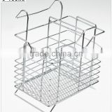 43005 Steel Wire Sink Basket Cutlery Holder Cooking Utensils Storage Kitchen Rack
