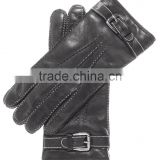 Gloves With Shearling Cuff
