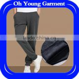 high quality men runnings sports trousers two pack sweat pants wholesale Custom Label sweat joggers men sports