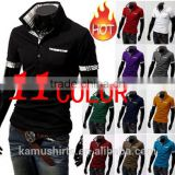 promotional polo shirt contrast hotsale polo shirts mens