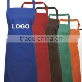 Custom made colorful 100% nylon waterproof with pockets and adjustable neck strap butcher bib Apron