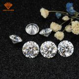 Forever one round cut VVS1 3mm 5mm synthetic diamond loose moissanite wholesale​