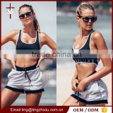 Wholesale strap cross back hot selling women sport bra