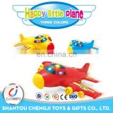 Kids powerful electric lighting musical aircraft models plane