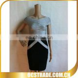 2013 bestsller elegant v neck cap sleeve career professional dress