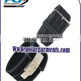 Weight lifting Leather Lever Belt / Weight lifting lever belt prong
