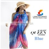 Women's Bikini Cover up Scarf Sarong Cover Up Miss Swimwear Beach Scarf Pareo Dress Skirt Beach Chiffon Wrap