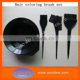 Hair tinting bowl and Brush