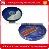 Custom non-slip plastic food serving tray with logo printed on film