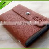 New design yoyo id card holder personalized leather business card holder card holder leather