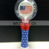 Light Up Magic Spinning American Flags & glow spinner wand for American National Day Party