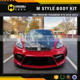 tested body kit in stock with high quality MS style FRP CARBON body kit for panamera 970
