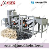 Whole Sunflower Seed / Hemp Seed Shelling Dehulling Machine Low Cost