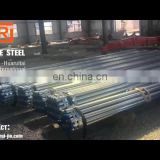MS pre galvanized round hollow section weld carbon mild steel pipe