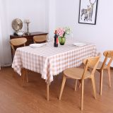 Simple and generous rural style home dining table cloth restaurant table cover rectangular picnic cloth