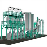 50T/24H Maize Mill Machine