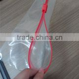 Slider Zipper Bag For Food Powder Packaging/supermarket promotional laminated plastic slider bag