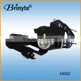 Brinyte HD02 Plastic Waterproof Fishing Camping Hiking CREE Rechargeable LED Hunting Headlight