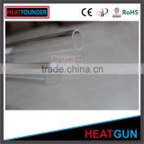 "Clear fused silica 6"" quartz glass tube for sale                                                                         Quality Choice"
