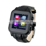 cell phone watch android , PW308 Vogue Android 4.4 smart watch with 3G/WIFI/GPS ,cell phone watch android
