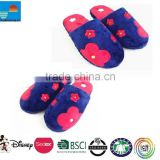 plush toy slipper/ plush indoor slipper/ adult plush slippers/adult plush indoor slipper
