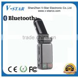 Wireless Bluetooth Car Kit Bluetooth FM Transmitte for Hands-free Calling,Stream Music and GPS Voice Navigation