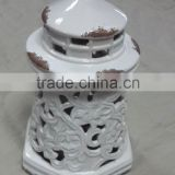 hot sell lighthouse design ceramic lamp holder                                                                         Quality Choice