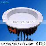 28W 230mm low voltage led downlights cheap price led cob downlight
