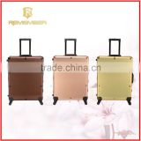 Rolling Cosmetic Makeup Case 4 In 1 Make Up Artist Case Aluminum Construction Case neoprene handbag