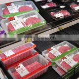 for supermarket display plastic fresh meat tray