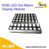 Newshine 8x8 64dots rgb led dot matrix displays 5mm