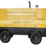 Qiankun Large pressure diesel movable piston air compressor for drilling rig VF13-7 13m3/7kg