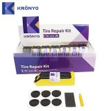 KRONYO tire bicycle tyre repair patch kit glueless repair patch