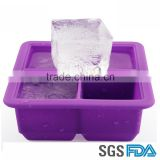 High Quality Silicone Ice Cube Tray , Silicone snowflake ice cube tray                                                                         Quality Choice