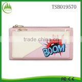 New Product best sellling Yiwu Promotional alibaba China pink purse fashion ladies purse